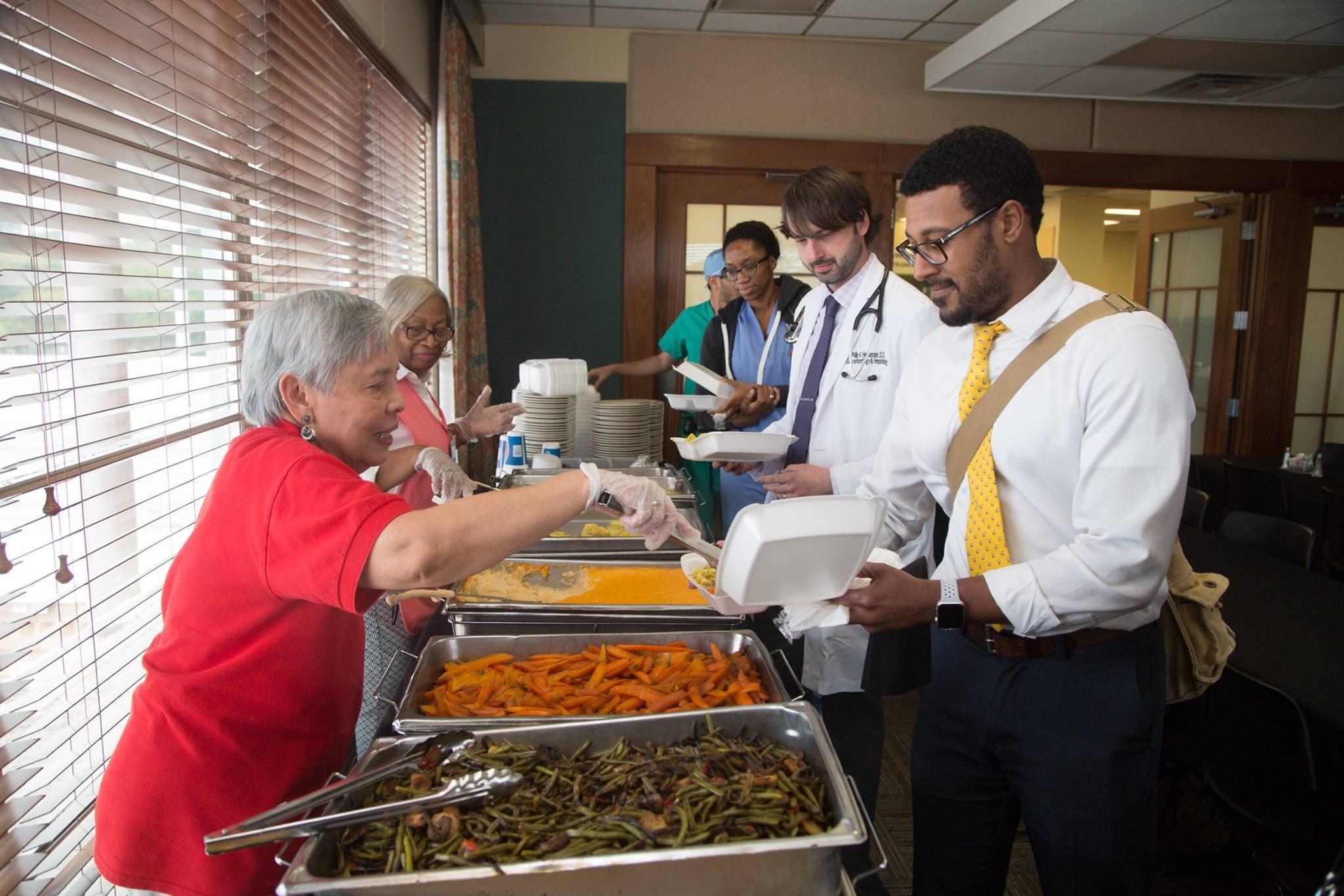 Volunteering at USA Health University Hospital