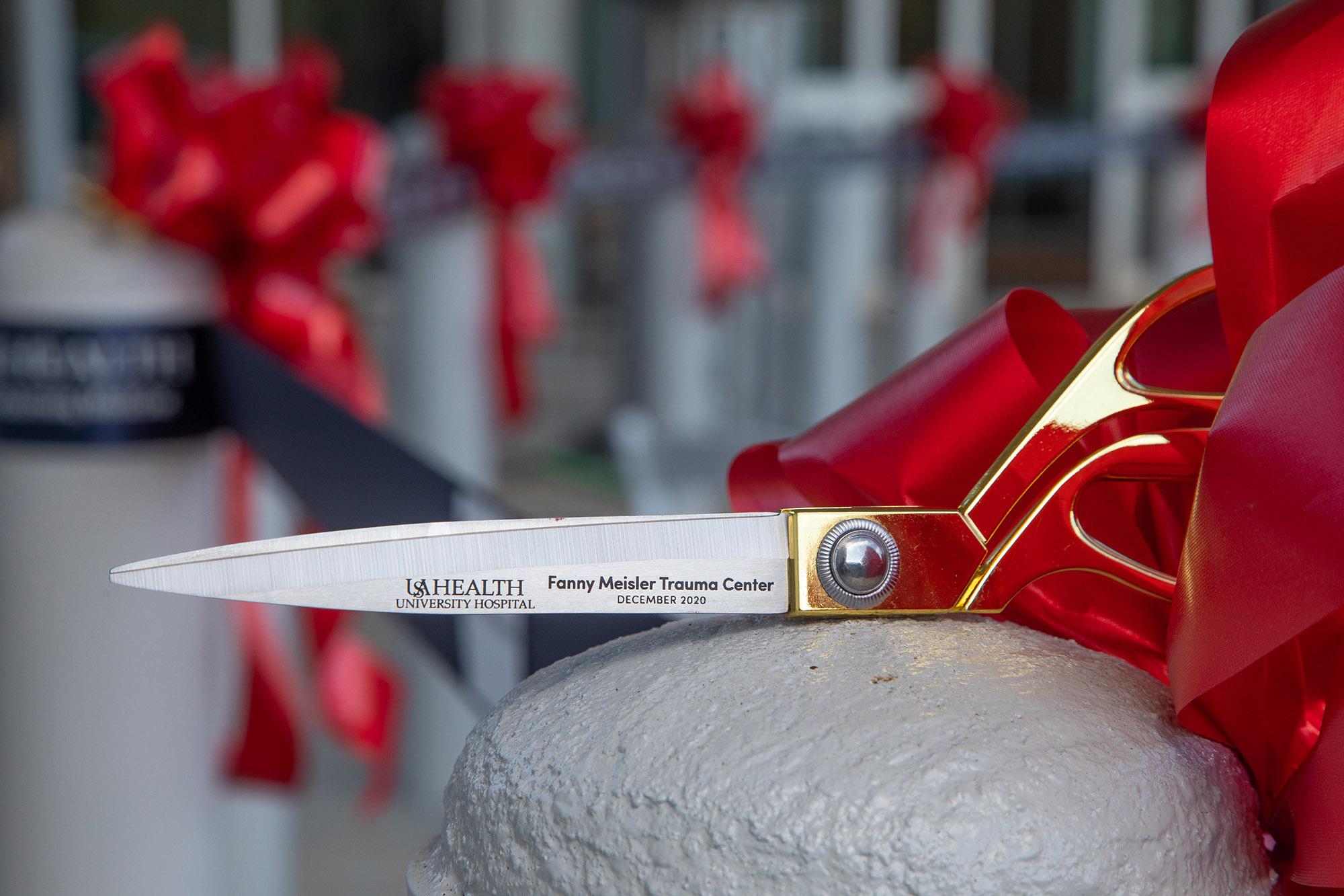 Ribbon cutting for the Fanny Meisler Trauma Center