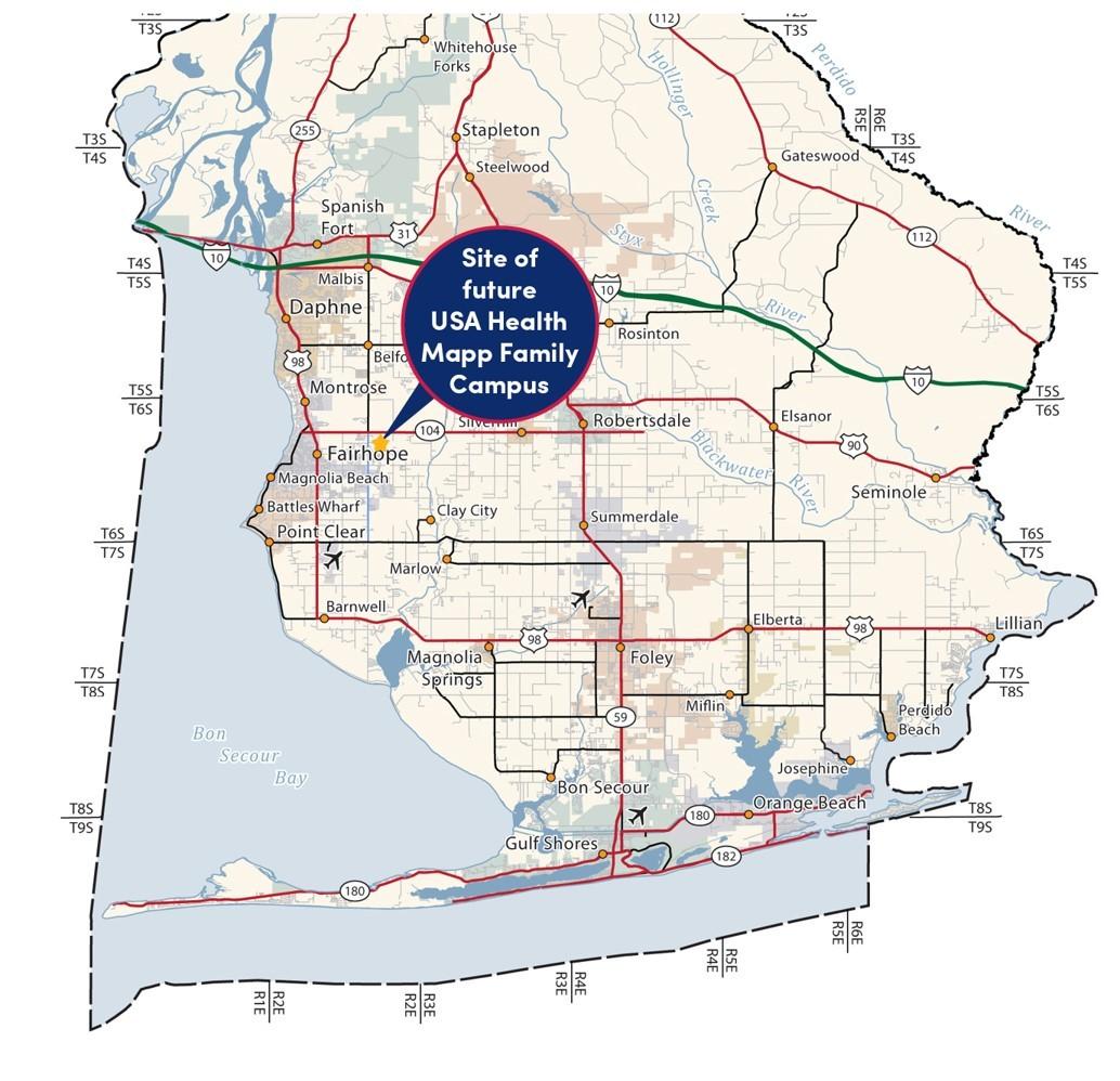 Mapp Family Campus - Baldwin County Location