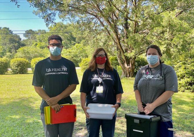 Members of the USA Health Pandemic Response Team