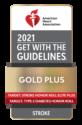 2021 American Heart Association Gold Plus Stroke